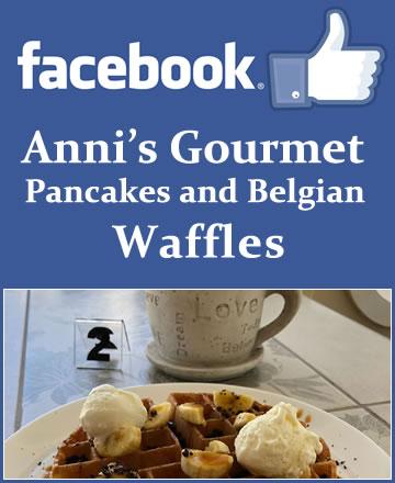 Anni' Gourmet Pancakes and Belgian Waffles on Facebook